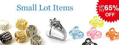Small Lot Items UP TO 65% OFF