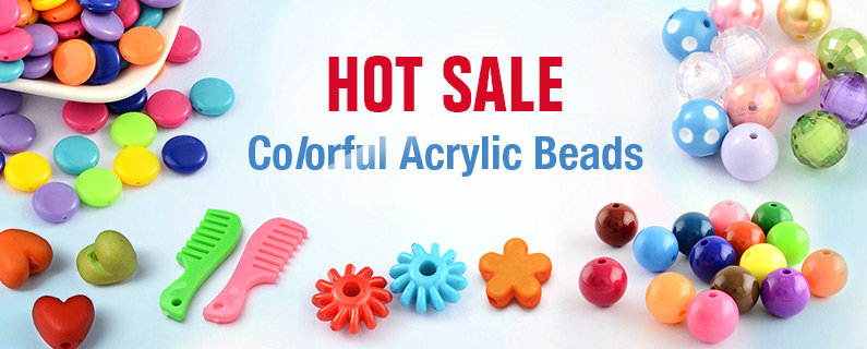 Hot Sale - Colorful Acrylic Beads