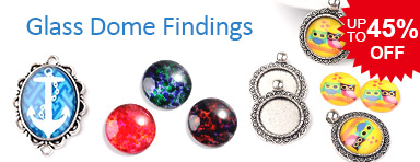 Glass Dome Findings UP TO 45% OFF