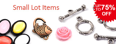 Small Lot Items UP TO 75% OFF