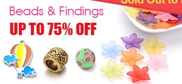 Limited Stock Items - Beads & Findings UP TO 75% OFF