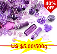 Colorful Acrylic Beads