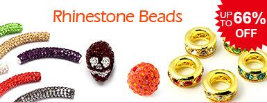Rhinestone Beads UP TO 66% OFF