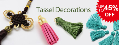 Tassel Decorations UP TO 45% OFF