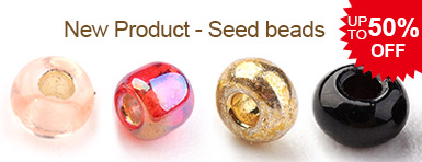 New Product - Seed beads UP TO 50% OFF