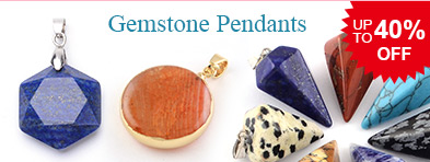 Gemstone Pendants UP TO 40% OFF