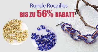 Runde Rocailles Bis zu 56%Rabatt