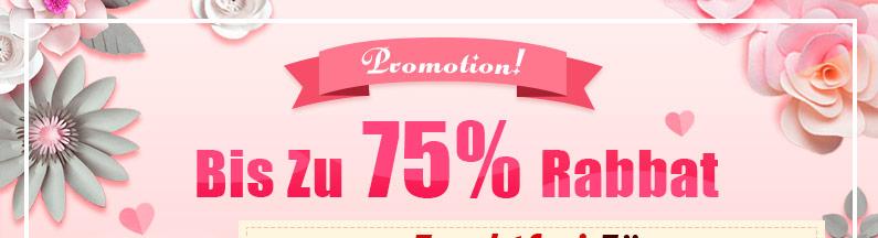 Promotion Bis Zu 75% Rabbat