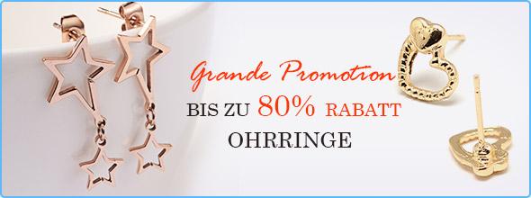 Großer Verkauf Bis zu 80% Rabatt Ohrringe