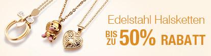 Edelstahl Halsketten Bis zu 50% Rabatt