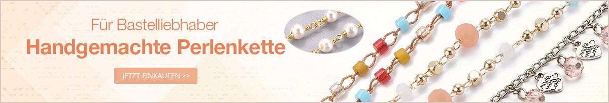 Für Bastelliebhaber Handgemachte Perlenkette