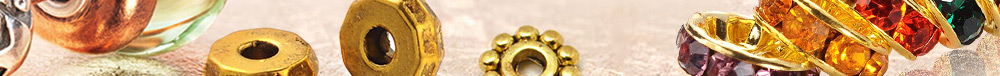 Indispensable Bead Spacers Free Match for Jewelry Designs