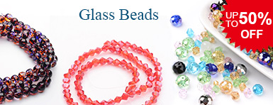 Glass Beads UP TO 50% OFF