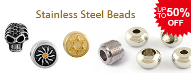 Stainless Steel Beads UP TO 50% OFF