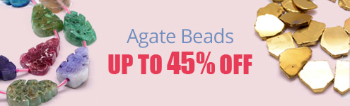 Agate Beads Up to 45% OFF