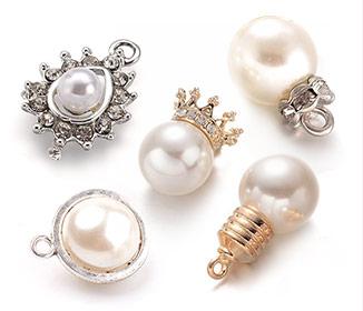 Acrylic Pearl Pendants