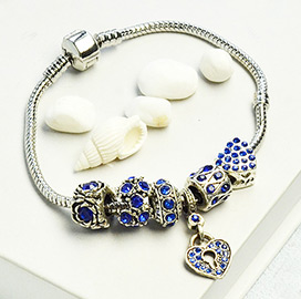 Rhinestone European Couple Bracelets