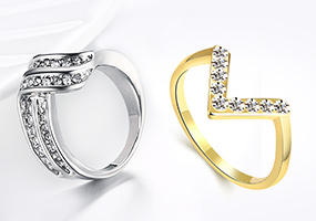 Strass Ring