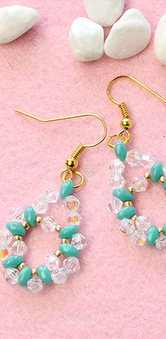 Easter Egg Dangle Earrings