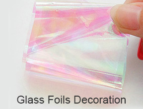 Glass Foils Decoration