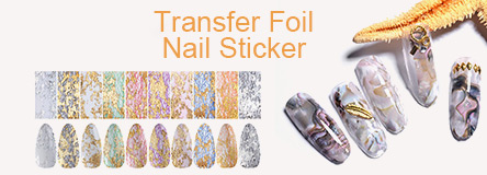 Transfer Foil Nail Sticker