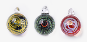 Lampwork Pendants