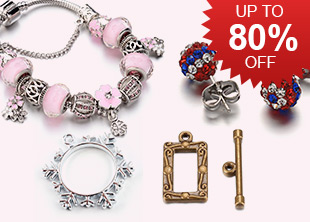 Assorted Beads & Findings Up To 80% OFF