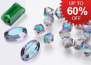 Glass Beads Up To 60% OFF