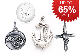 Stainless Steel Pendants Up To 65% OFF