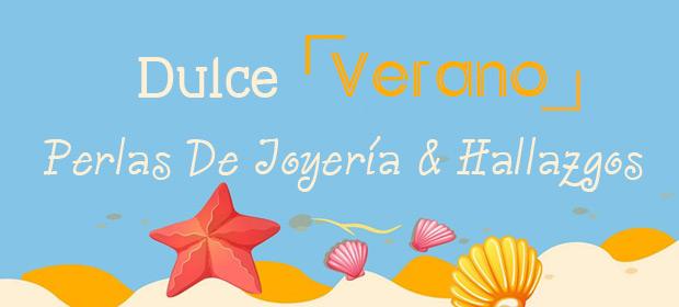 Perlas De Joyería De Verano Dulce & Hallazgos