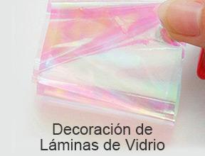 decoración de láminas de vidrio