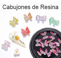 cabujones de resina