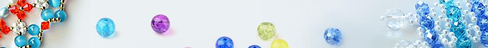 Perles En Verre Réfléchissantes Magiques