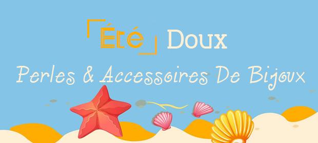 Perles & Accessoires De Bijoux D'Été Doux