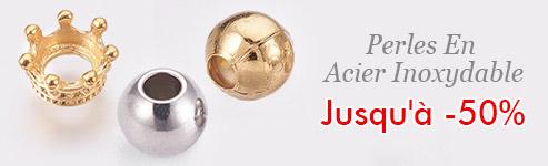 Perles En Acier Inoxydable