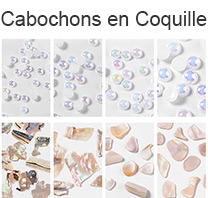 Cabochons en Coquille