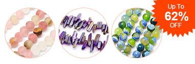 Gemstone Beads Up To 62% OFF