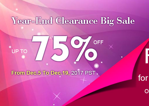 Year-End Clearance Big Sale! Up to 75% OFF
