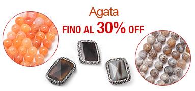 Agata FINO Al 30% OFF
