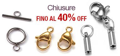 Chiusure FINO Al 40% OFF