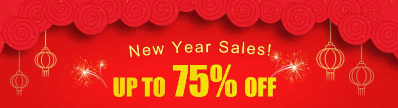 New Year Sales! Up to 75% OFF