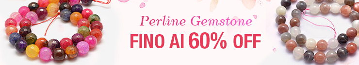 Perline Gemstone FINO Al 60% OFF