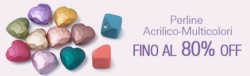 Perline Acrilico-Multicolori