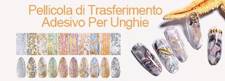 pellicola di trasferimento adesivo per unghie